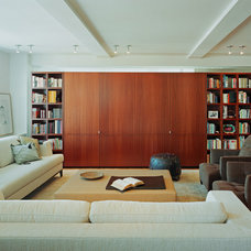 Contemporary Family Room by Billinkoff Architecture PLLC