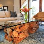 Vail Mountain Bachelor Condo Contemporary Living Room