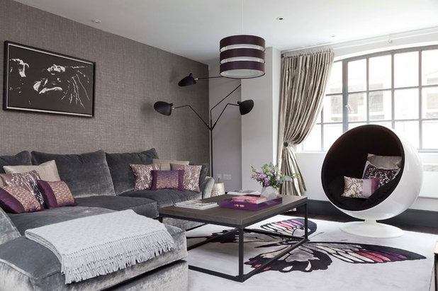 Contemporary Living Room by Nicola Holden Designs
