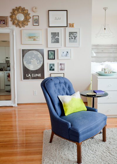 Eclectic Living Room by The Cross Interior Design