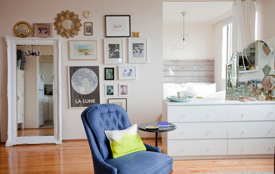 Houzz Tour: Living With Style (and Impermanence) in 450 Square Feet