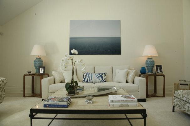 Eclectic Living Room by Eddie Lee Inc