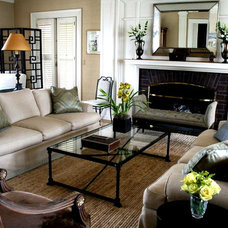 Traditional Living Room by Jenny Baines, Jennifer Baines Interiors