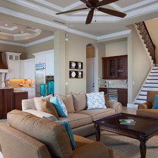 Traditional Living Room by Weber Design Group, Inc.