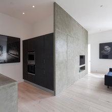 Polished Plaster TV Walls