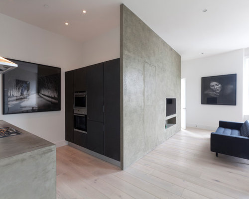 Concrete Wall Finishes | Houzz