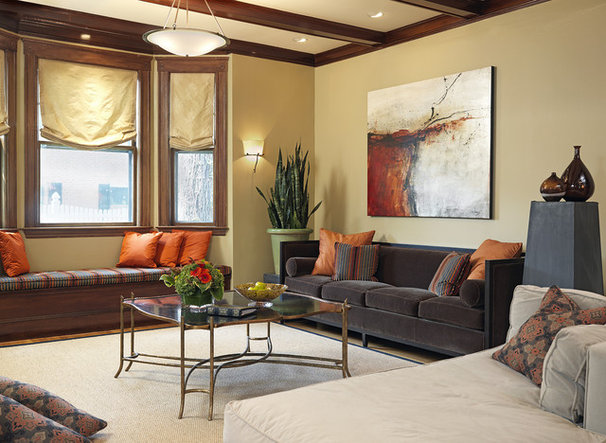 Traditional Living Room by Laurie Gorelick Interiors
