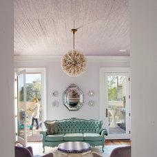 Contemporary Living Room by Rethink Design Studio