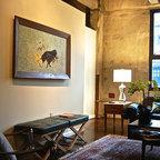 Spencer And Alex Industrial Living Room Salt Lake