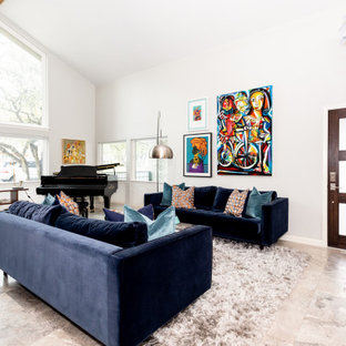 75 Beautiful Living Room With A Music Area Pictures Ideas December 2020 Houzz