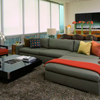 Filling Station Lofts Industrial Living Room Miami