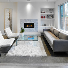 Contemporary Living Room by Martin Knowles Photo/Media