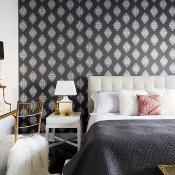 West Town Condo: Master Bedroom Redecoration