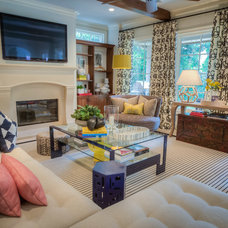 Modern Living Room by Janet Gust Design Group