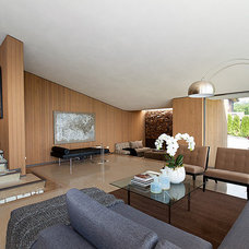 Midcentury Living Room by DEKORA Staging Inc