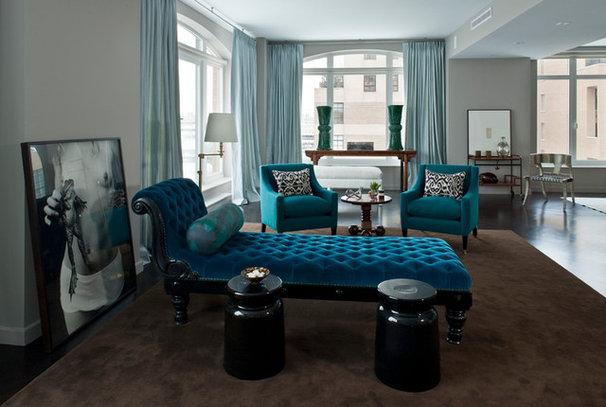 Transitional Living Room by Antonino Buzzetta Design