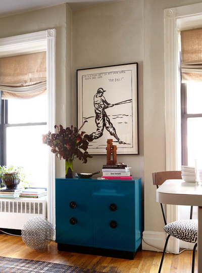 Eclectic Living Room by Bachman Brown Design