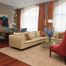 Contemporary Living Room by Deborah French Designs