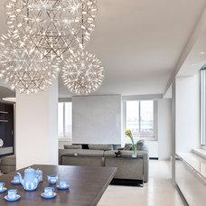 Contemporary Living Room by ORA Studio inc