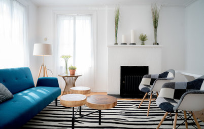 New This Week: Why Blue Is the Perfect Accent Color for a Living Room
