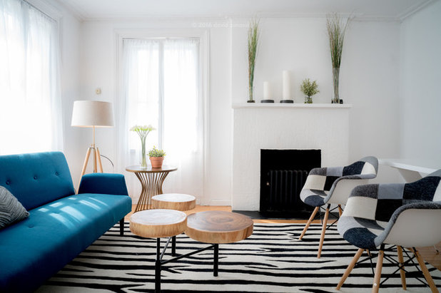 Contemporary Living Room by ETHAN MICHELLE home