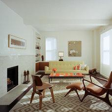 Contemporary Living Room by Ondine Karady Design