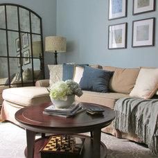 Traditional Living Room by Dalehead Designs, LLC