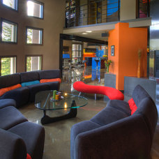 Contemporary Living Room Westbluff Property