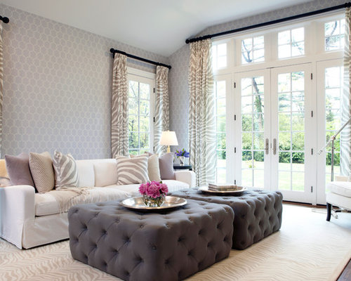Living Room Ottoman | Houzz