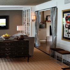 Traditional Living Room by Paris K Interior Design