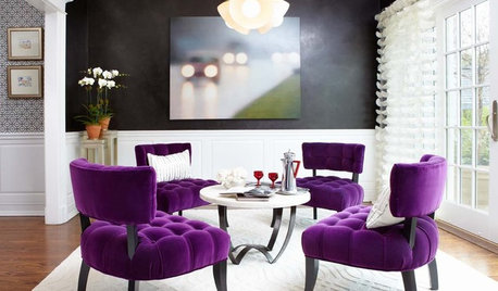 Let Purple Passion Infuse Your Home