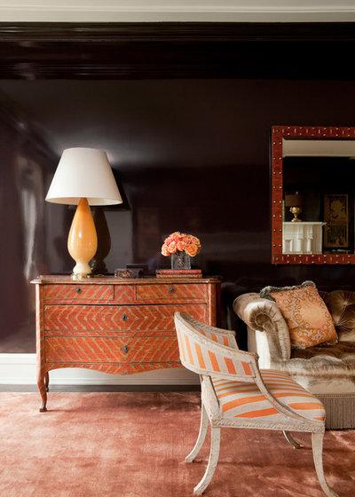 Mediterranean Living Room by Pierce Allen