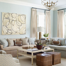 Traditional Family Room by Catherine M. Austin Interior Design