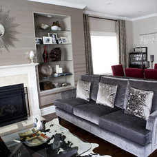 Modern Living Room by Pure Bliss Creative Design