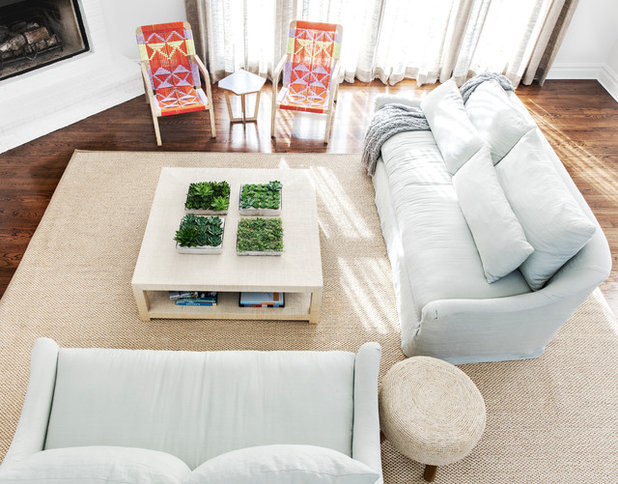 Beach Style Living Room by Chango & Co.