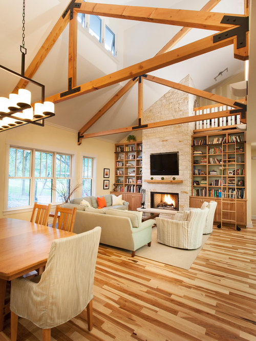 Two Toned Wood Floor Home Design Ideas Pictures Remodel