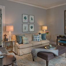 Traditional Living Room by Design Studio2010, LLC
