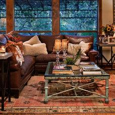 Traditional Living Room by Zoe Murphy Compton Ltd.