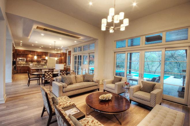 Modern Living Room by Butter Lutz Interiors, LLC