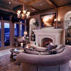 Traditional Living Room by Bravo Interior Design