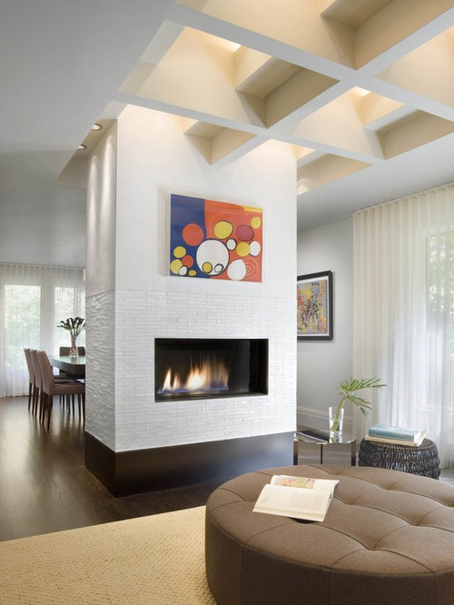 SaveEmail - Best Freestanding Fireplace Design Ideas & Remodel Pictures Houzz