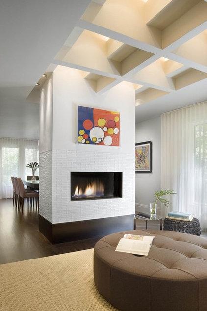 Modern Living Room by Ruhl Walker Architects