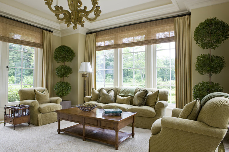 traditional living room by SLC Interiors