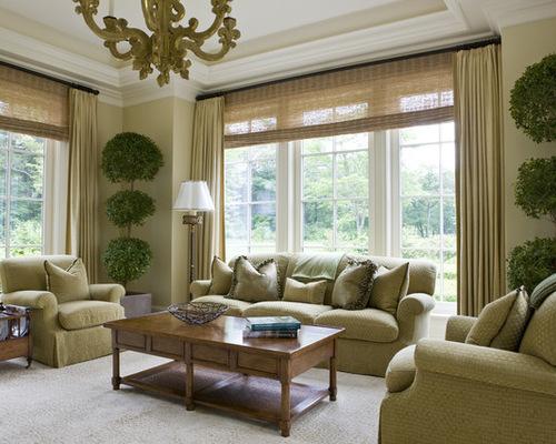 living room window treatments - Living Room Window Ideas