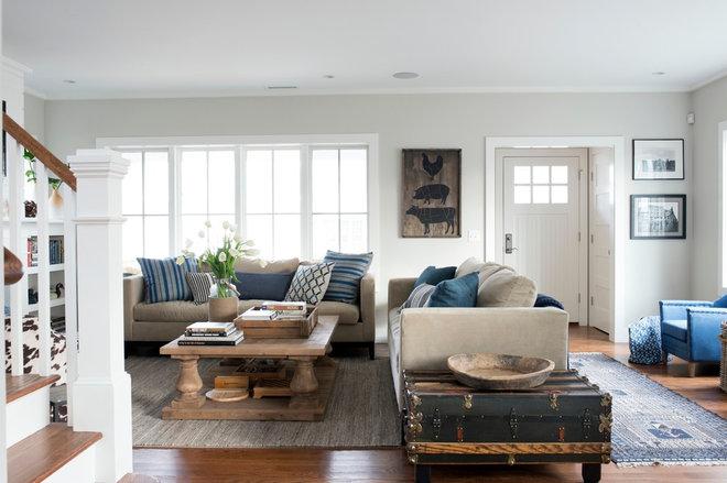 Beach Style Living Room by Bensonwood