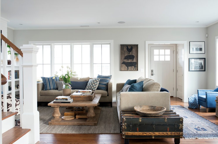 Beach Style Living Room by Bensonwood