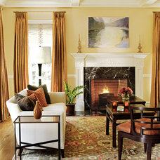 Traditional Living Room by Robin McGarry Interior Design