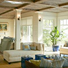 traditional living room by Shelter Interiors llc