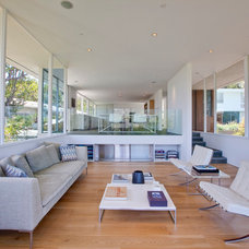 Modern Living Room by Dixon Construction, Inc.
