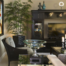 Traditional Living Room by Leonie G Interiors LLC dba.